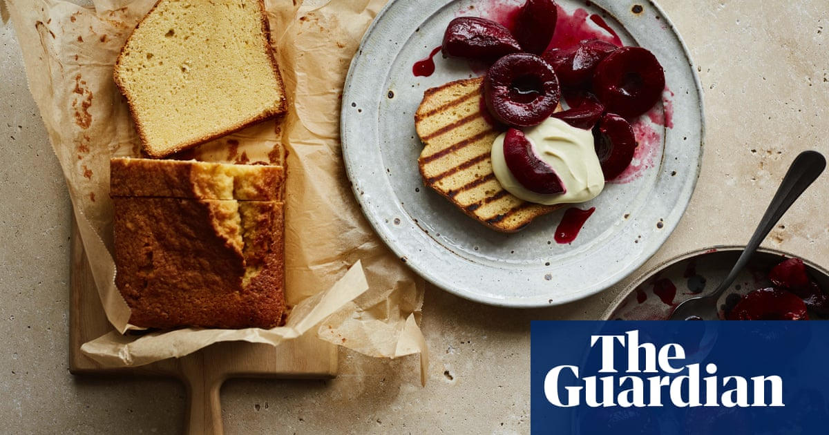 Ravneet Gill's recipes for passion cake and creme fraiche loaf