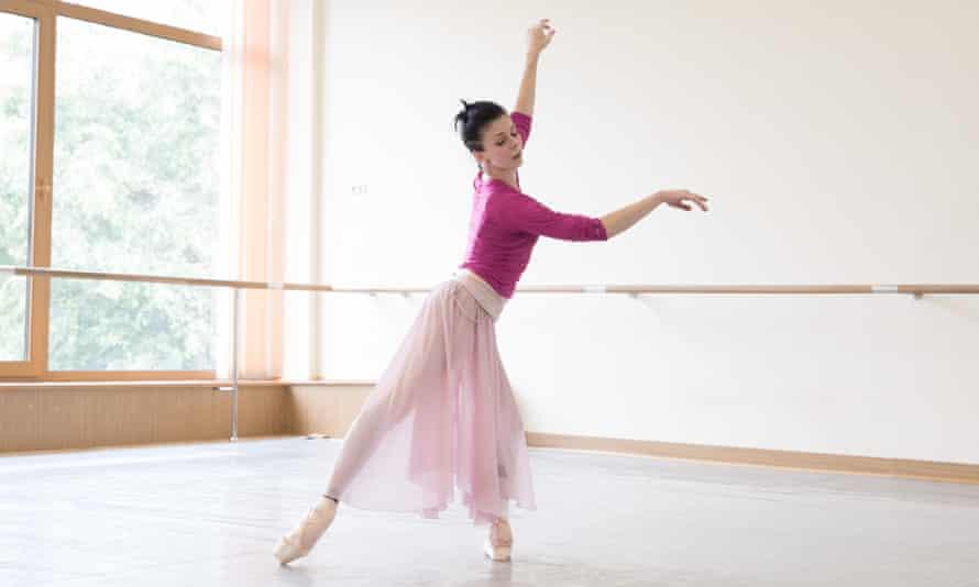 Natalia Osipova in rehearsal.