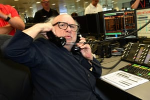 Actor Danny DeVito during the 13th BGC Annual Charity Day at Canary Wharf in London, in commemoration of the 658 employees and 61 Eurobroker employees of BGC who were lost in the World Trade Center attacks on 9/11.