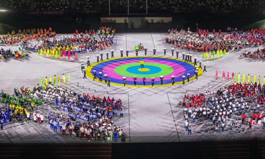 The Paralympic Games closing ceremony on 5 September.