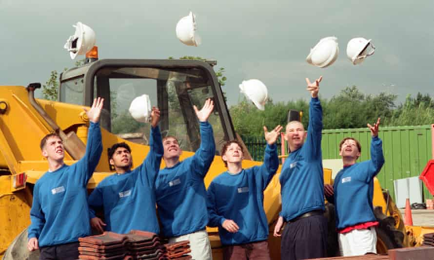 Stockton council's modern apprenticeship intake, 1996.
