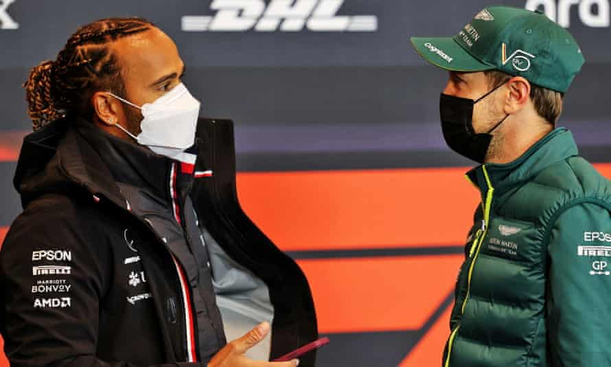 Lewis Hamilton described his previous battles with Sebastian Vettel as the best in his career.