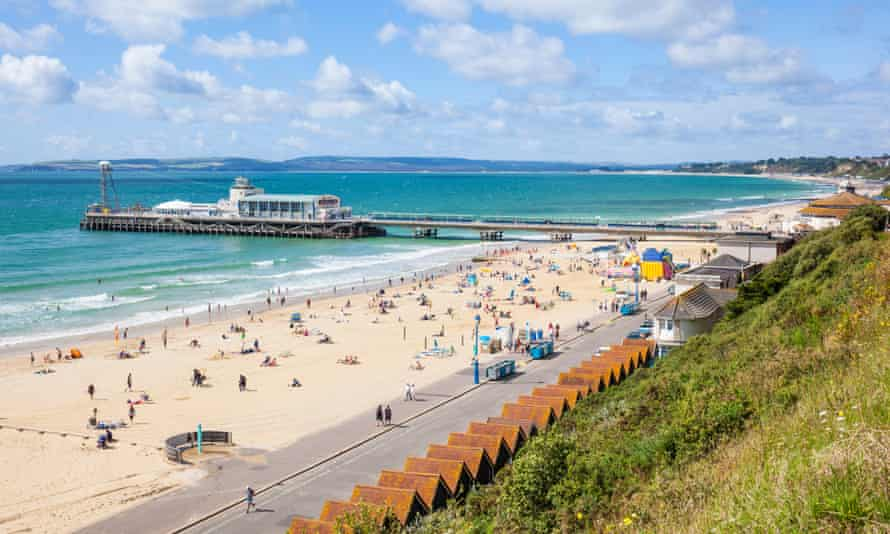 Bournemouth seafront and pier