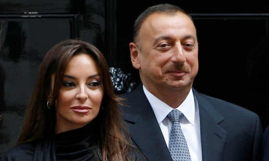 Ilham Aliyev and Mehriban Aliyeva