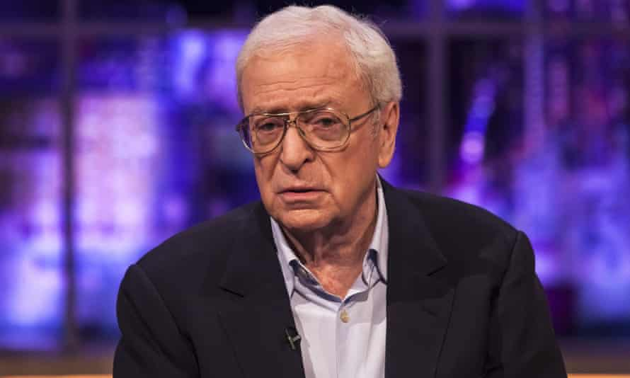 'I was a bit of a piss artist when I was younger' … Michael Caine.