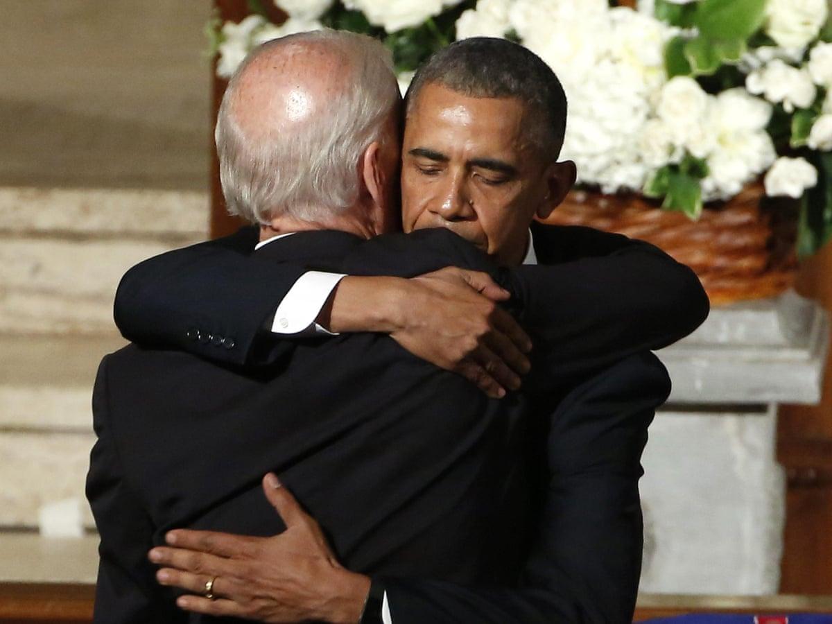 Barack Obama Delivers Tearful Eulogy At Beau Biden Funeral In Delaware Us News The Guardian