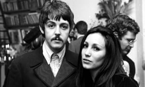 Julie Felix at a party with Paul McCartney around 1966.