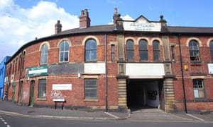 The Portland Works building in Sheffield