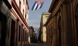 Downtown Havana yesterday.