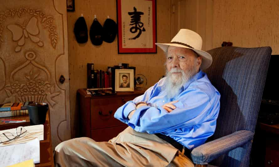 Herman Wouk at his home in Palm Springs, California, 2012.