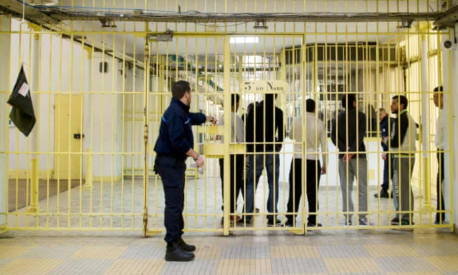Fresnes near Paris is one of a handful of prisons running a controversial scheme to combat Islamic radicalisation