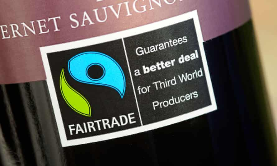Cup of kindness: Fairtrade ensures a fair price is paid for the wines.