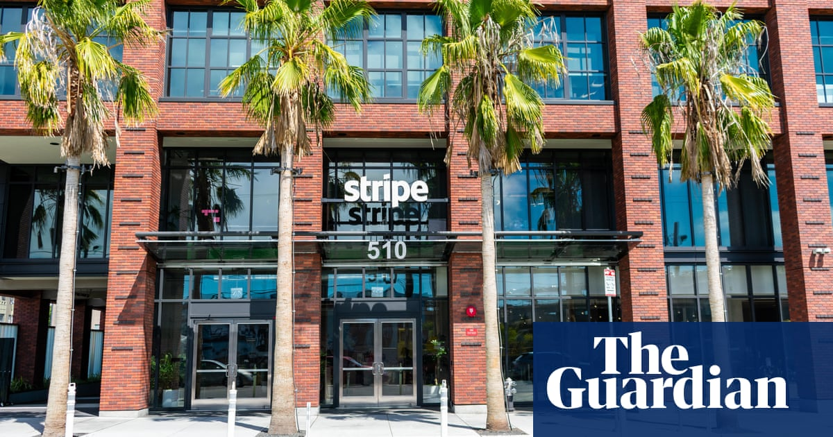 Silicon Valley's Stripe valued at $95bn after fundraising