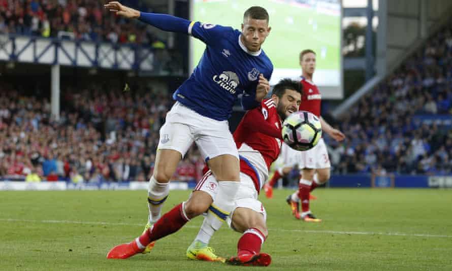 Ross Barkley, Everton v Middlesbrough