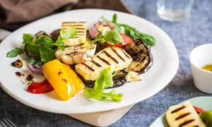 Grilled halloumi, a barbecue staple, is in short supply …