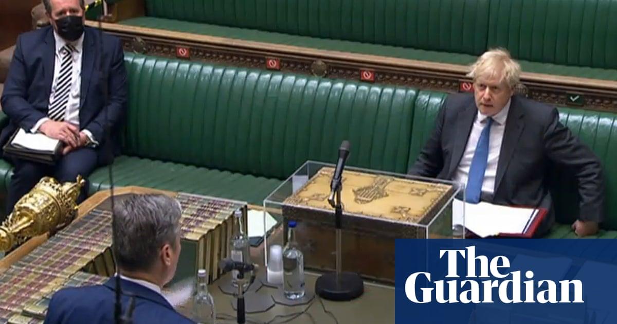 Keir Starmer attacks 'Major Sleaze' Boris Johnson over 'cash for curtains' row