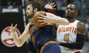 Kevin Love hurt Atlanta with a blitz of three-pointers