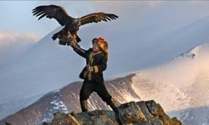 The Eagle Huntress: the teenage Mongolian nomad who's