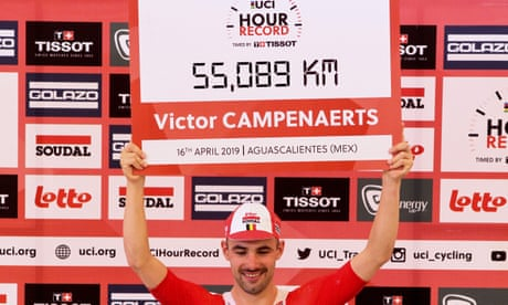 Victor Campenaerts sets new one-hour record to surpass Sir Bradley Wiggins
