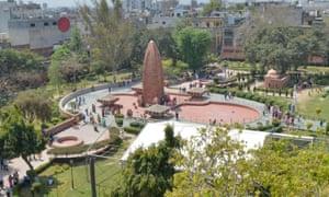 The Jallianwala Bagh memorial in Amritsar, India.