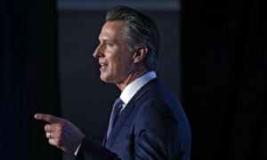 California Governor Gavin Newsom's new budget is a clear rebuke of Donald Trump's national agenda.