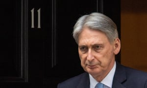 The chancellor, Philip Hammond.