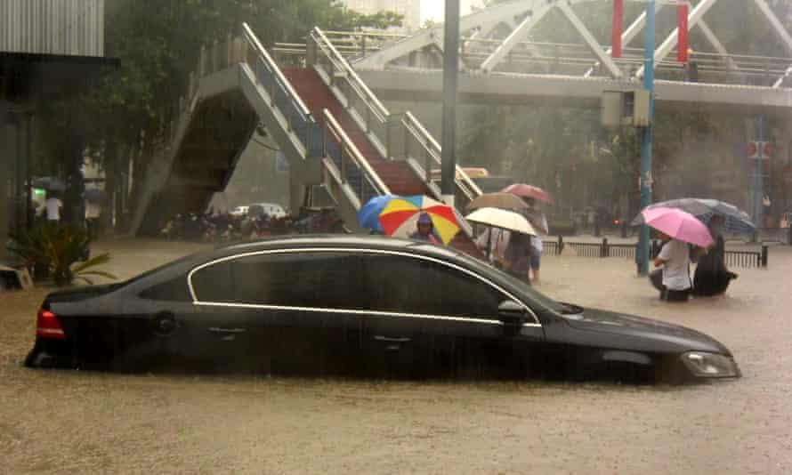 Flooding in Zhengzhou, Henan Province, July 20