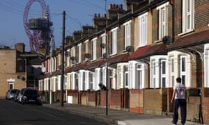 A street in Newham, one of the UK's poorest boroughs. This London local authority has the largest amount of lobo loans in the UK, and had to spend £75m on servicing debt, a sum exceeding the £68m it earned from council tax.