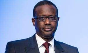 Tidjane Thiam, CEO of Credit Suisse