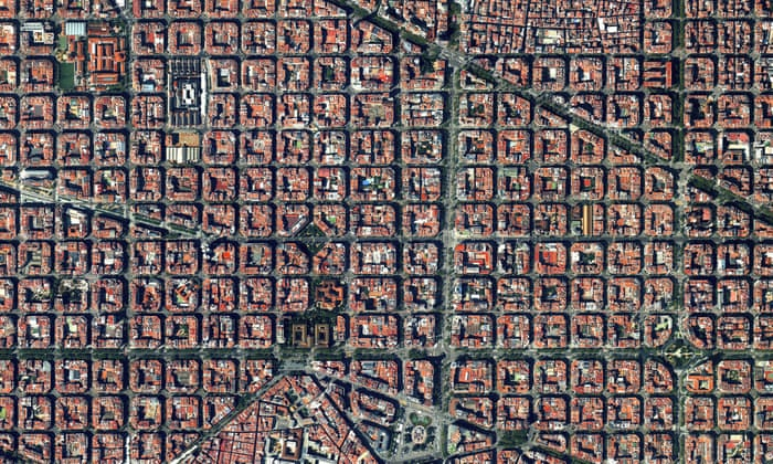 Carte Eixample Barcelone.Story Of Cities 13 Barcelona S Unloved Planner Invents Science Of
