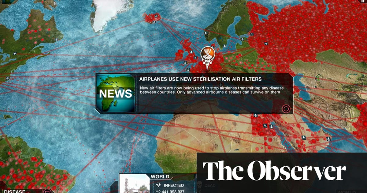 Rip Filtering Disabled Roblox Plague Inc How To Game The Pandemic Games The Guardian