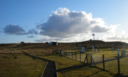 The weather observatory in Lerwick, Shetland.
