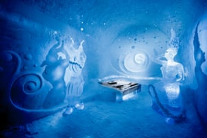 Dancers in the Dark suite by at the ice hotel