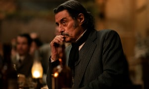 Al Swearengen (Ian McShane), Deadwood's philosopher king.