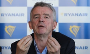 Ryanair's chief executive, Michael O'Leary, said the EU transport secretary's plans to strike bespoke aviation deals with the 27 EU member states were 'doomed to failure'.