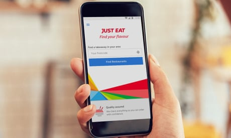 Just Eat 55bn Valuation Online Takeaway Company Now Worth
