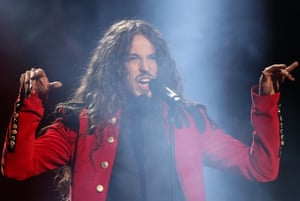 Michal Szpak representing Poland performs 'Color of Your Life'