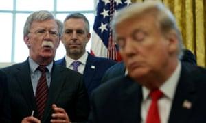 Bolton and Trump
