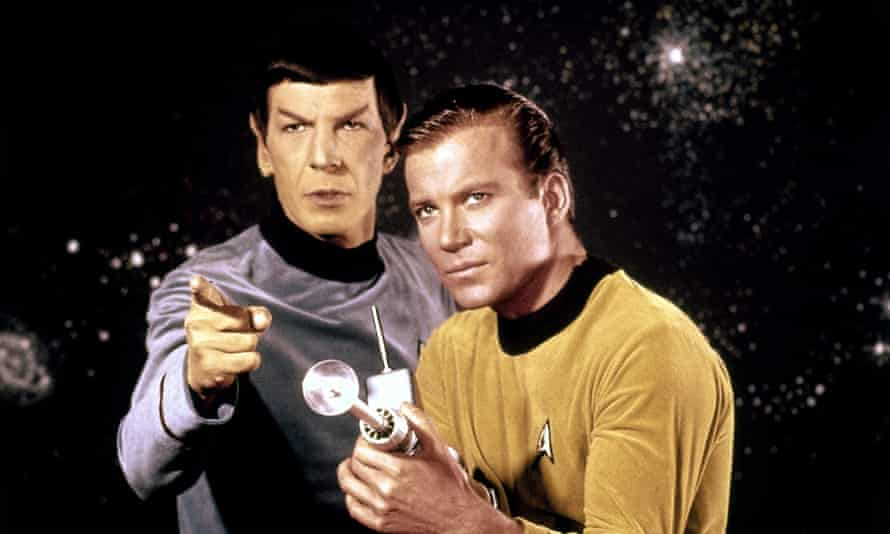 Leonard Nimoy and William Shatner in Star Trek: the most detailed imaginary world in pop culture