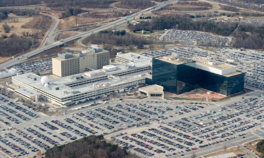 The National Security Agency (NSA) headquarters at Fort Meade, Maryland.