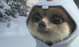 A still from one of Comparethemarket's meerkat TV ads