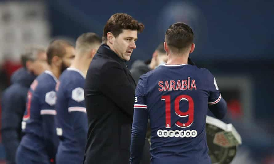 Mauricio Pochettino will miss PSG's next two Ligue 1 games as he self-isolates.