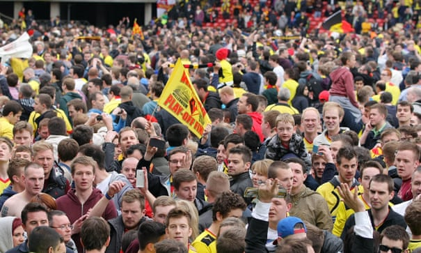 Golden Goal: Troy Deeney for Watford v Leicester (2013