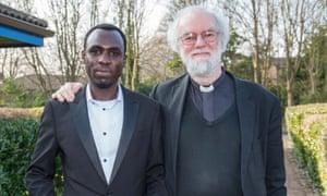 Mubarak Babiker Mohamed and former archbishop of Canterbury Rowan Williams