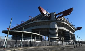 Milan's San Siro, where the 2016 Champions League final will be hosted on 28 May