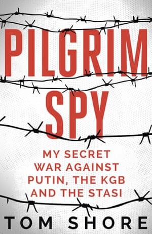 Pilgrim Spy by Tom Shore cover