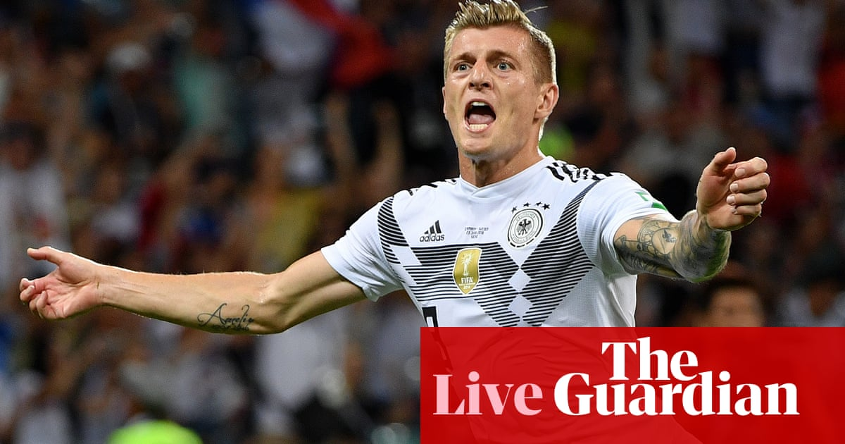 a716fc14e97 World Cup 2018  Germany 2-1 Sweden – as it happened