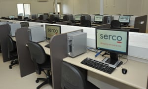 Serco says the recordings are unverified and has refused to comment on them