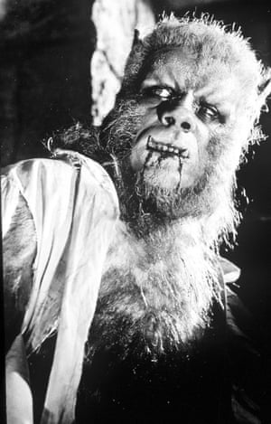 Oliver Reed as a werewolf