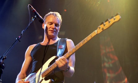 'You think these people are immortal, but then suddenly they're like the rest of us, they die'… Sting.